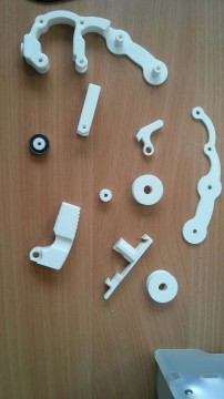 New feeder assembly in parts
