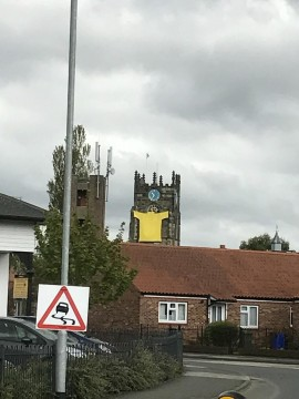 Pocklington Church Yellow Jersey