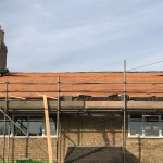 New Welsh Slate Roof - Roof off - Day 1