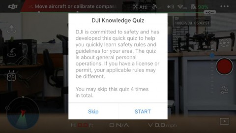 DJI Knowledge Quiz