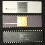 My collection of Intel 8086/8088 processors