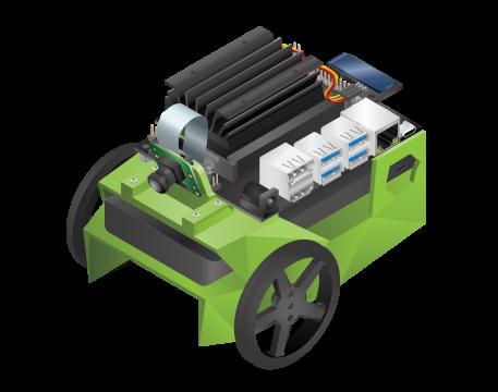 A Nvidia Jetson Jetbot (robot)