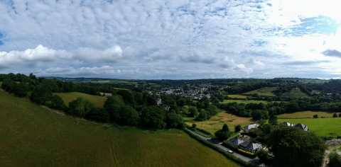 View over Horrabridge