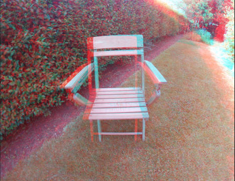 Chair in 3D