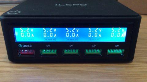 5 port 2.4A PSU