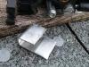 metal bracket in production