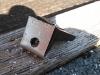 final metal bracket with hole