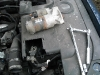 Starter Motor removed and tools