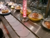 Conveyor belt Sushi at Yo Sushi